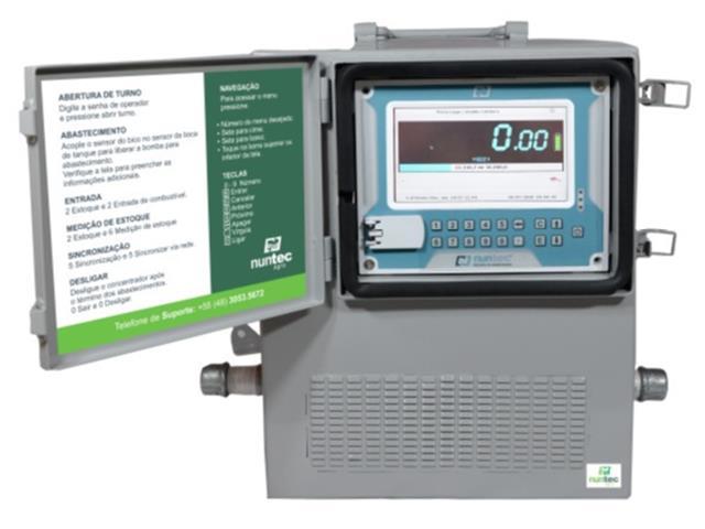 Bomba Nuntec Automatizada para Abastecimento com Coleta de Dados 12V - 3