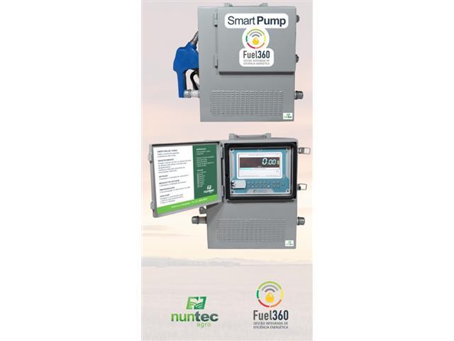 Bomba Nuntec Automatizada para Abastecimento com Coleta de Dados 12V