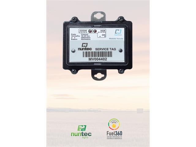 Módulo de Captura Automática de Horímetro e Odômetro Nuntec 10 Uni