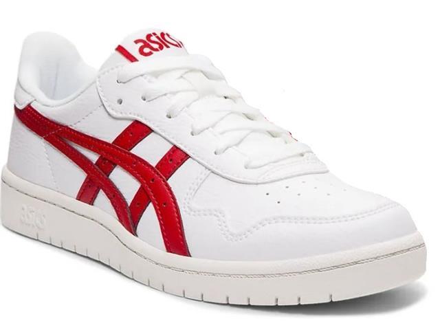 Tênis Asics Japan S White/Speed Red Feminino