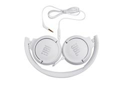 Fone de Ouvido JBL T500 com Fio Branco T500WHITE - 2