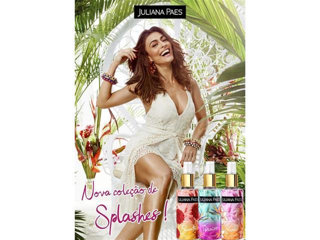 Body Splash Paraíso Juliana Paes Feminino 200ml - 2