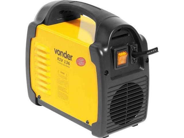 Inversor para Solda Elétrica Vonder RIV136 com Display Digital Bivolt - 1