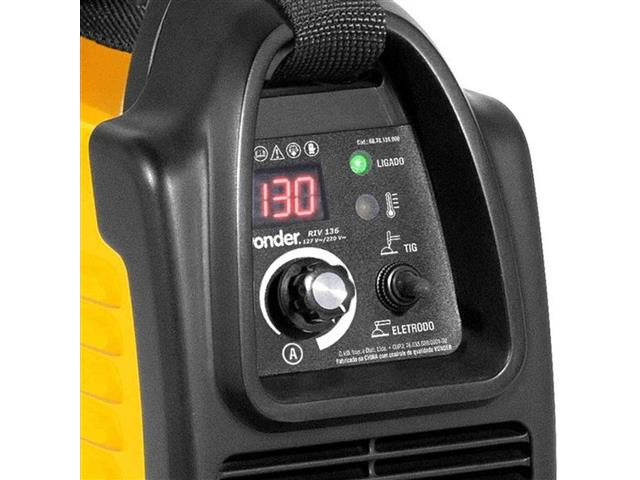 Inversor para Solda Elétrica Vonder RIV136 com Display Digital Bivolt - 2