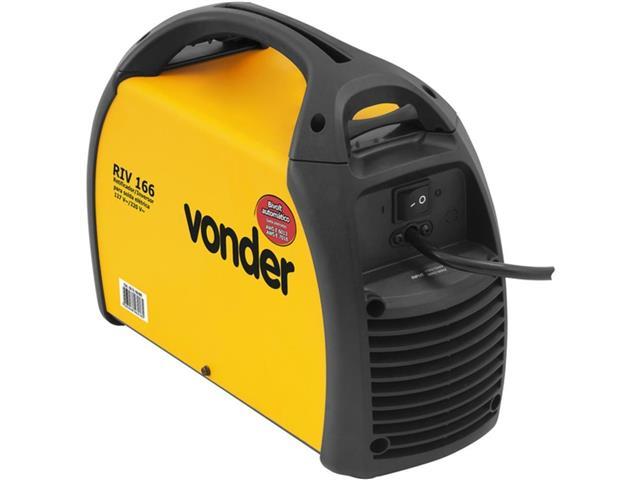 Inversor para Solda Elétrica Vonder RIV166 com Display Digital Bivolt - 2