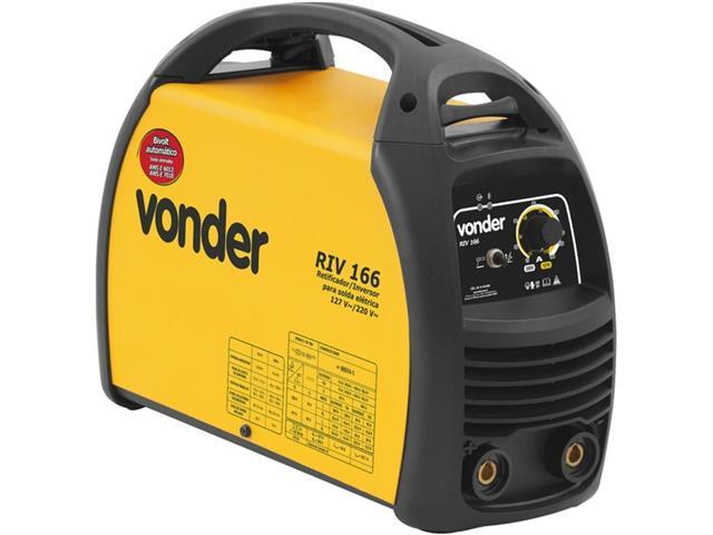 Inversor para Solda Elétrica Vonder RIV166 com Display Digital Bivolt - 1