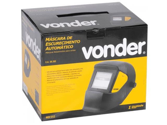Máscara de Solda Vonder com Escurecimento Automático Tonalidade 12 - 2