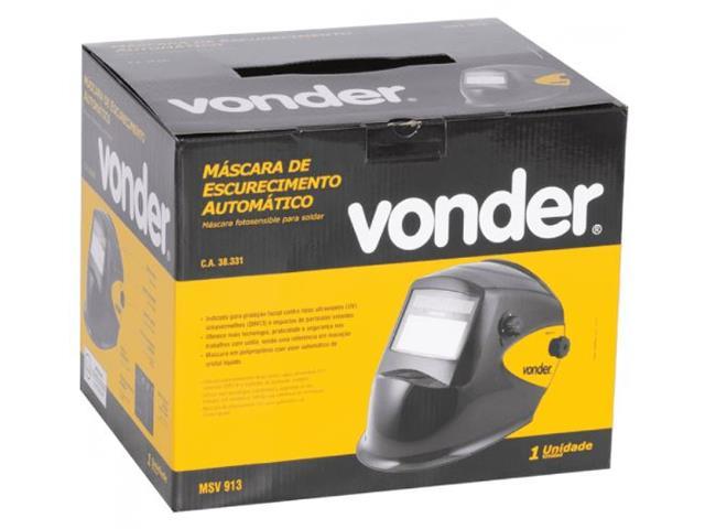 Máscara de Solda Vonder com Escurecimento Automático Tonalidade 9 a 13 - 2