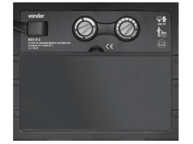 Máscara de Solda Vonder com Escurecimento Automático Tonalidade 9 a 13 - 1