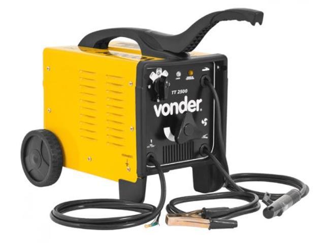 Transformador para Solda Elétrica Vonder TT-2500 Monofásico 110V/220V