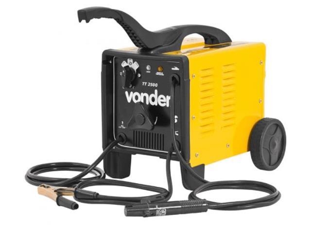 Transformador para Solda Elétrica Vonder TT-2500 Monofásico 110V/220V - 2