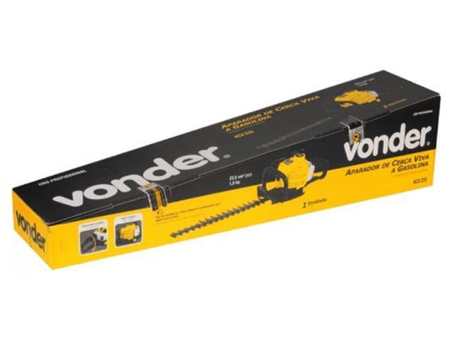 Aparador de Cerca Viva Vonder ACV225 à Gasolina 22,5CC 28mm - 4