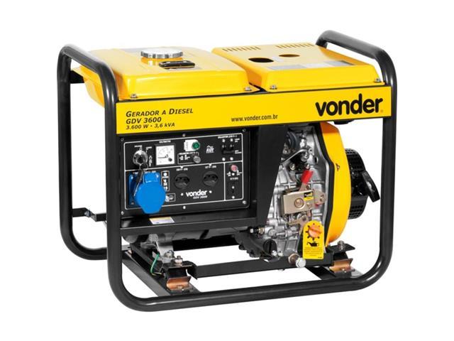 Gerador de Energia Vonder GDV 3600 à Diesel