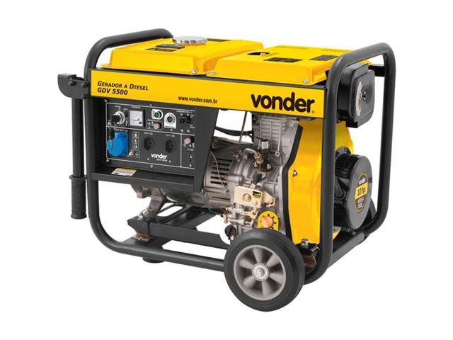 Gerador de Energia Vonder GDV 5500 à Diesel