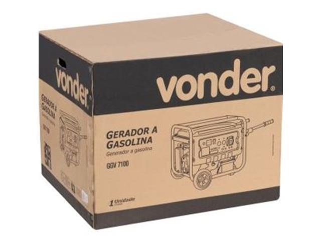 Gerador de Energia Vonder GGV7100 à Gasolina - 6