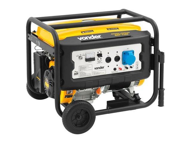 Gerador de Energia Vonder GGV7100 à Gasolina - 1