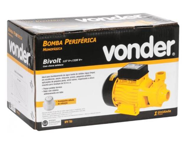 Bomba Periférica Vonder 1 CV - 2
