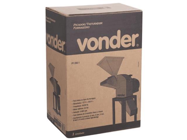 Picador Triturador Forrageiro Vonder PF 200-1 Monofásico - 5