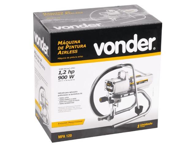 Máquina de Pintura Vonder Airless MPA120 1,2 HP 900W 220V - 8