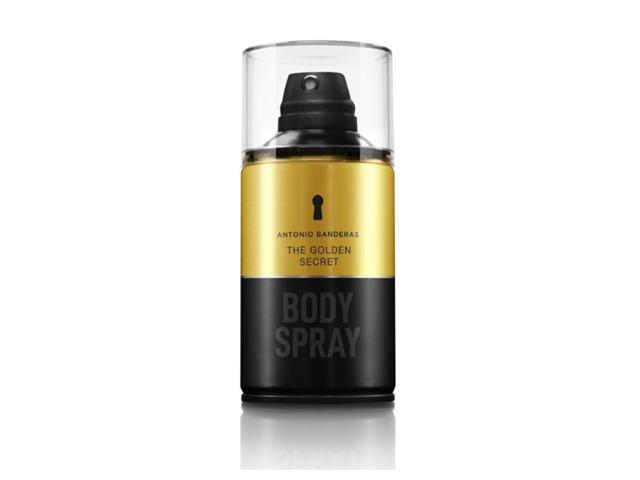 Body Spray Antonio Banderas The Golden Secret Masculino 250ml