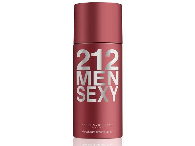 Desodorante 212 Sexy Carolina Herreira Masculino 150ml