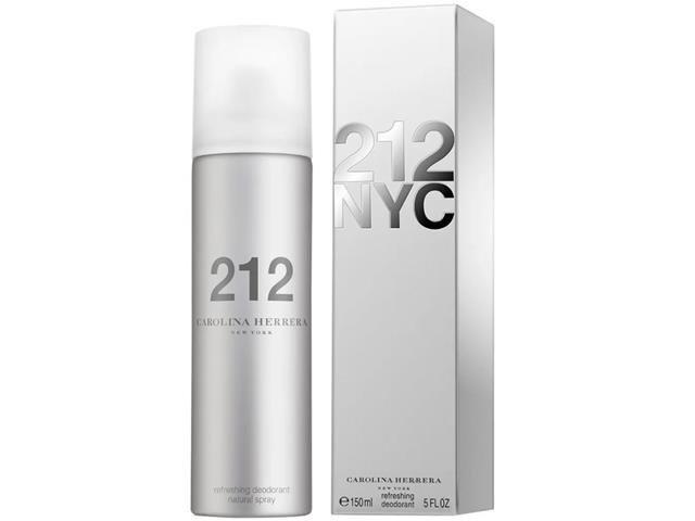 Desodorante 212 Carolina Herrera Feminino 150ml