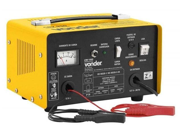 Carregador de Bateria Vonder CBV9501 Portátil 12V - 1