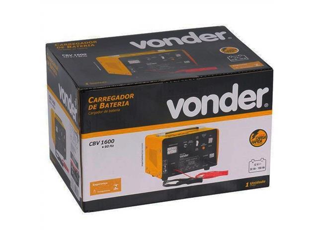 Carregador de Bateria Vonder CBV1600 Portátil 12V - 4