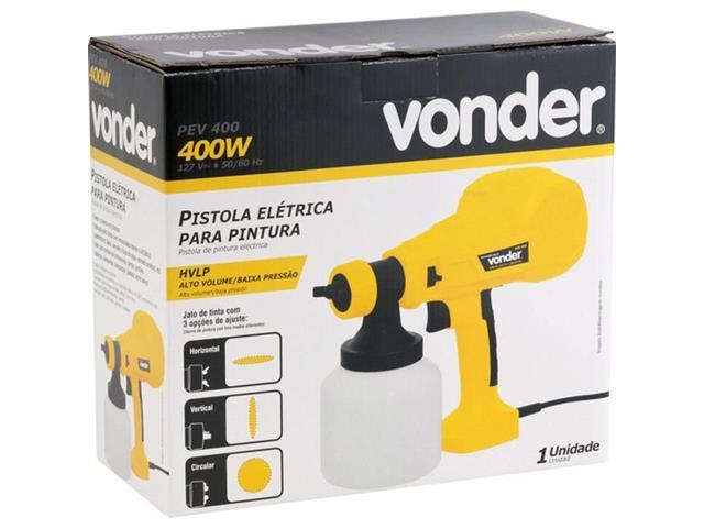 Pistola Elétrica para Pinttura Vonder PEV 400W - 4