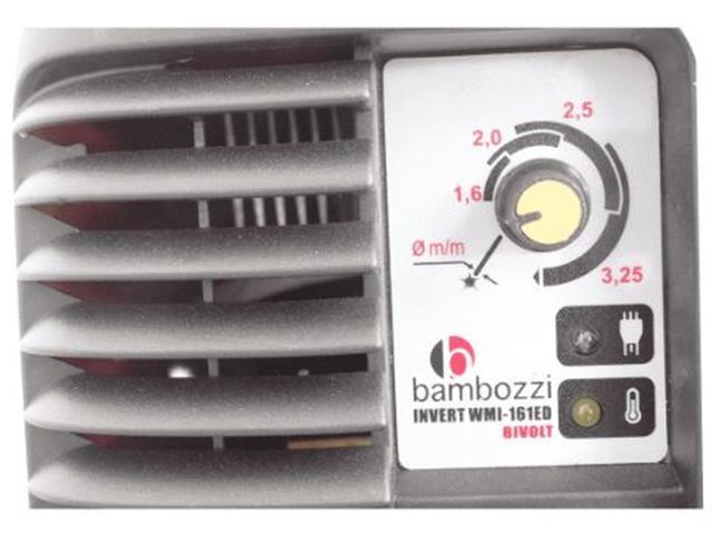 Máquina de Solda Inversora Bambozzi WMI 161ED com Maleta Bivolt - 2