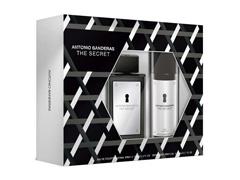 Kit Perfume Antonio Banderas The Secret Masc EDT 100ml + Deo Spray - 1