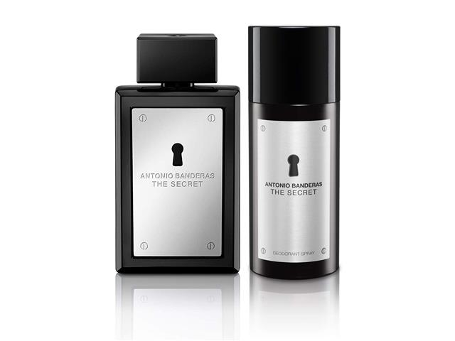 Kit Perfume Antonio Banderas The Secret Masc EDT 100ml + Deo Spray