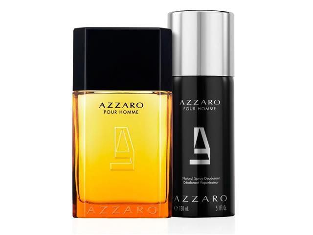 Kit Perfume Azzaro Pour Homme EDT 100ml + Deo Spray 150ml