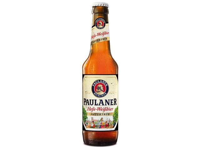Cerveja Paulaner Hefe Weissbier Naturtrüb 330ML