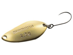 Isca Cardiff Shimano Tipo Colher 69T 2.5G Ouro