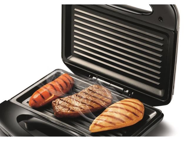 Sanduicheira Mondial S-12 Fast Grill e Sandwich 750W 110V - 1