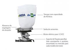 Semeadora para Moto Ikeda MS 40 Litros - 1