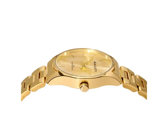 Relógio Akium Feminino Aço Dourado TML7138B - 1