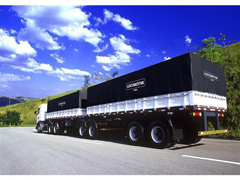 Lona de Cobertura para Cargas Locomotiva Lonil PVC Preta 15x5M - 0