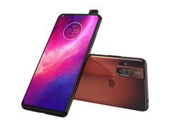 "Smartphone Motorola One Hyper 128GB 6.5""Câm 64+8MP e Selfie 32MP Âmbar - 4"