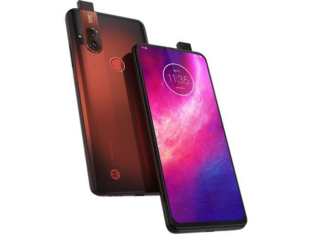 "Smartphone Motorola One Hyper 128GB 6.5""Câm 64+8MP e Selfie 32MP Âmbar - 5"