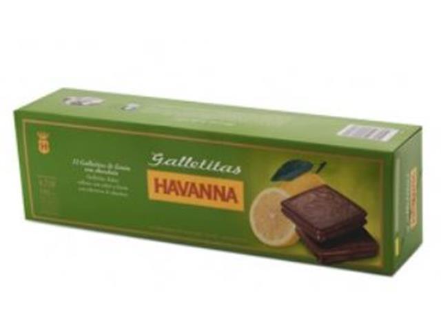 Caixa Galletita Limón com Cobertura de Chocolate Havanna 12 Unidades