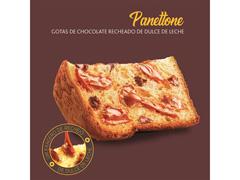 Mini Panettone Havanna Gotas de Chocolate Recheio Doce de Leite 130G - 2