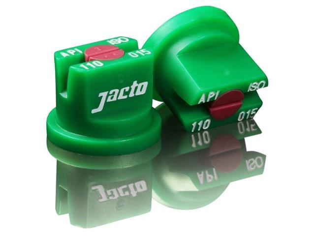Combo Bico Pulv Jacto Leque Api 110015 Verde 25 Peças