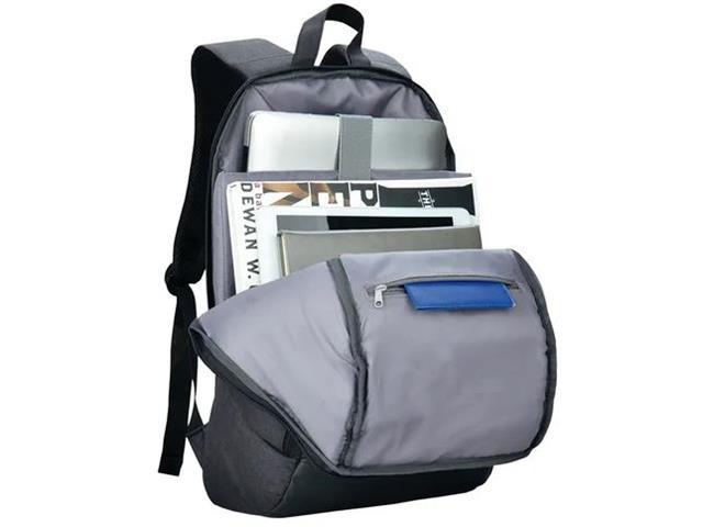 Mochila Swisspack Safe Multilaser Antifurto até 15,6 Polegadas Preta - 3