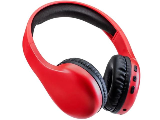 Headphone Multilaser Bluetooth Joy P2 PH311 Vermelho
