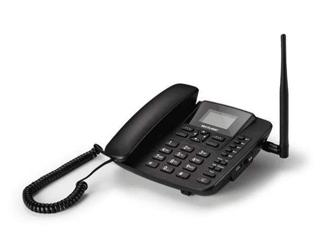 Telefone Celular Rural de Mesa Multilaser Quadriband 2G Dual Sim
