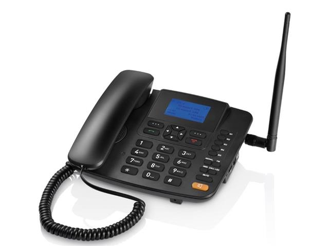 Celular Rural Fixo Multilaser Quadriband 3G RE504 Preto - 1