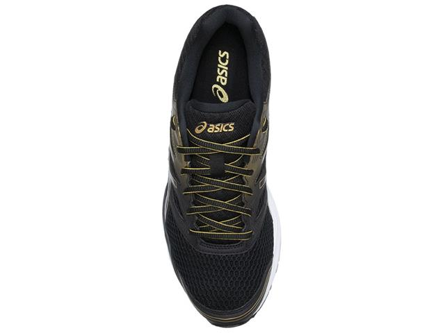 Tênis Asics Gel-Shogun 2 Black/Pure Gold Masculino - 4