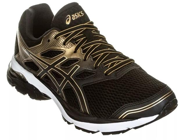 Tênis Asics Gel-Shogun 2 Black/Pure Gold Masculino